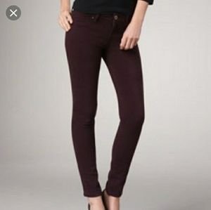 DL1961 Emma Rosewood leggings size 28